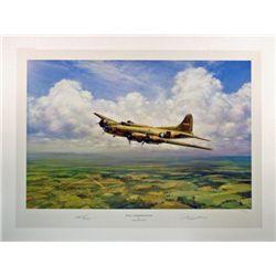 Aviation Art Belle...Homewardbound Young B-17