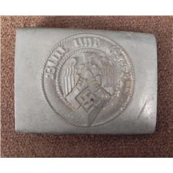 "NAZI HITLER YOUTH EARLY ORIG BUCKLE-MARKED ""RZM M4/118"""