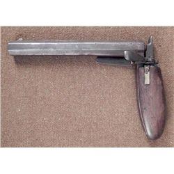 Boot Pistol Antique Gun Percussion Cap 1860s RARE