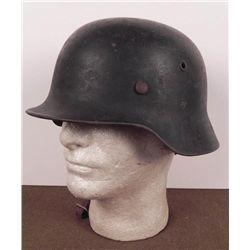 WWII NAZI M40 LUFTWAFFE SINGLE DECAL CAMO HELMET-DARKEN
