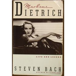 MARLENE DIETRICH S/C BOOK-LIFE AND LEGEND-C1992--626 PG