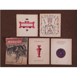 1940'S FRENCH BOOKLETS-CHATEAUX OF FRANCE-CATHEDRALS