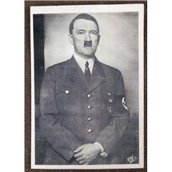 PHOTO POSTCARD OF ADOLF HITLER-ORIG-IN FULL UNIFORM