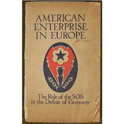 "WWII BOOK-""AMERICAN ENTERPRISE IN EUROPE-ROLE OF SOS"
