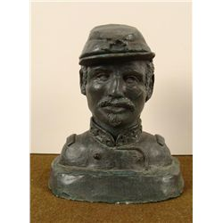 BUST CIVIL WAR SOLDIER WEIGHT OF COMMAND EVELYN PEREZ