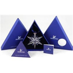 Swarovski 2005 Annual Limited Edition christmas Ornament MINT IN BOX!!
