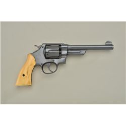 "Smith & Wesson First Model Hand Ejector ""triple lock"" DA revolver, .44 Special cal., 6-1/2"" barrel,"