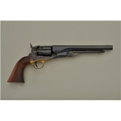 "Colt New Blackpowder Series Model 1860 Fluted Army percussion revolver, .44 cal., 8"" barrel, blue an"