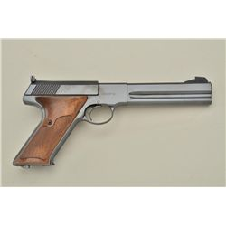 "Colt Match Target semi-auto pistol, .22LR cal., 6"" barrel, quality re-blue finish, possibly factory,"