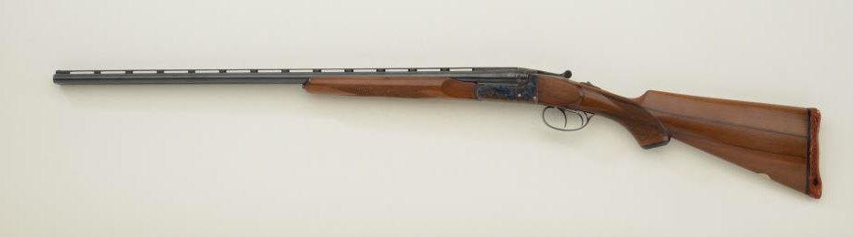 "Spanish-made SxS hammerless shotgun imported by Jana of Denver, Colorado,   410 gauge, for 3"" cartrid"