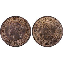 Canada 1882 H 1c PCGS MS63 RB