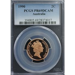 1990 Australian Decimal Proof Set