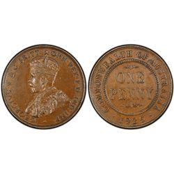 1925 1D PCGS AU55