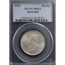 1923 Florin PCGS MS63