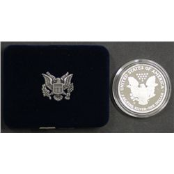 USA Silver Proof 1 Ounce 2007