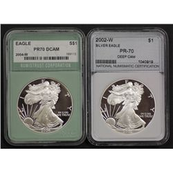 USA Silver 1 Ounce Eagles