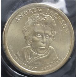 USA $1 Commemorative 2008 Andrew Jackson (50 Coins)
