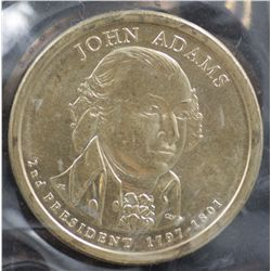 USA $1 2007 John Adams (50 Coins)