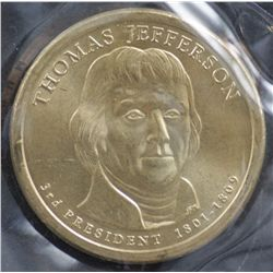 USA $1 2007 Thomas Jefferson (50 Coins)