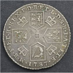 Great Britain 1787 Shilling