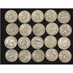 1960 Australian Shillings