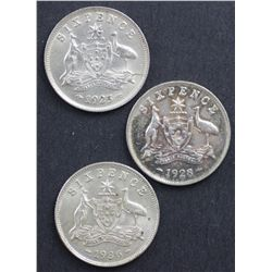 Australian Sixpences
