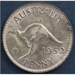 Australia Pennies 1948, 1952, 1953