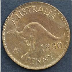 Australia Pennies 1948 , 1950, 1952