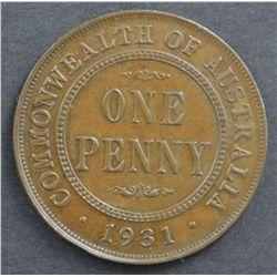 Australian 1931 Penny