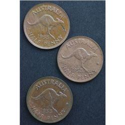 Australian Half Pennies