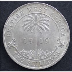 British West Africa Florin 1919
