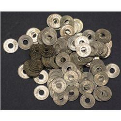 1954 Fiji ½ pennies