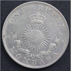 Mombassa Rupee 1888
