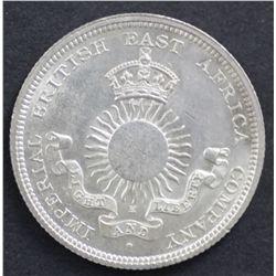 Mombassa ½ Rupee 1890