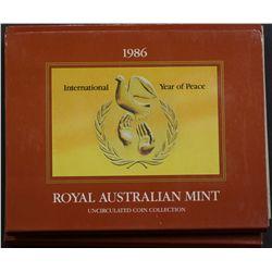 Australia 1986 Mint Sets x 5