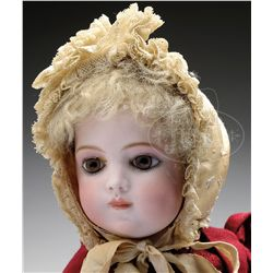 LOVELY EARLY BRU CHILD DOLL.