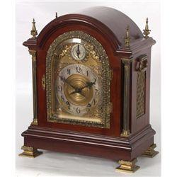 Tiffany & Co. Makers Mahogany Bracket Clock