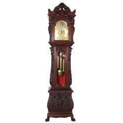 Tiffany & Co. Mahogany Horner Grandfather Clock