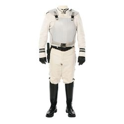 Peacekeeper Uniform with Stun-Baton from The Hunger Games