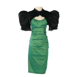 Capitol Citizen Green Dress from The Hunger Games