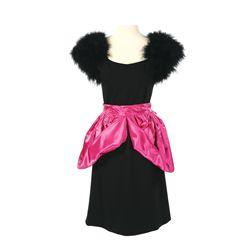 Capitol Citizen Black and Pink Dress from The Hunger Games