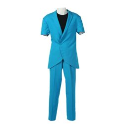 Capitol Citizen Blue Suit from The Hunger Games