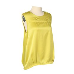 Katniss Training Apartment Charteuse Blouse from The Hunger Games