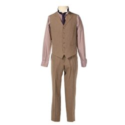 Haymitch Tan Two Piece Suit from The Hunger Games