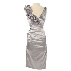Capitol Citizen Silver Dress from The Hunger Games