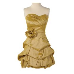 Capitol Citizen Gold Dress from The Hunger Games