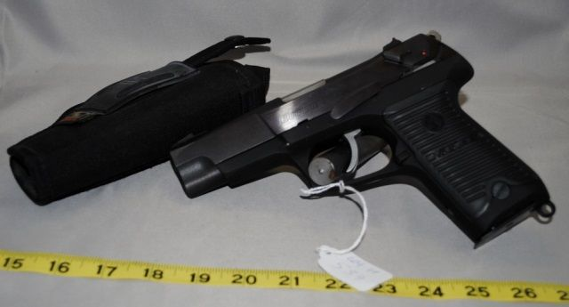 RUGER P89 9MM BY STURM RUGER CO WITH HOLSTER