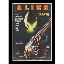 Alien - Original Turkish Release One-sheet