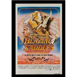 Blazing Saddles - Original 1974 Release One-Sheet Poster