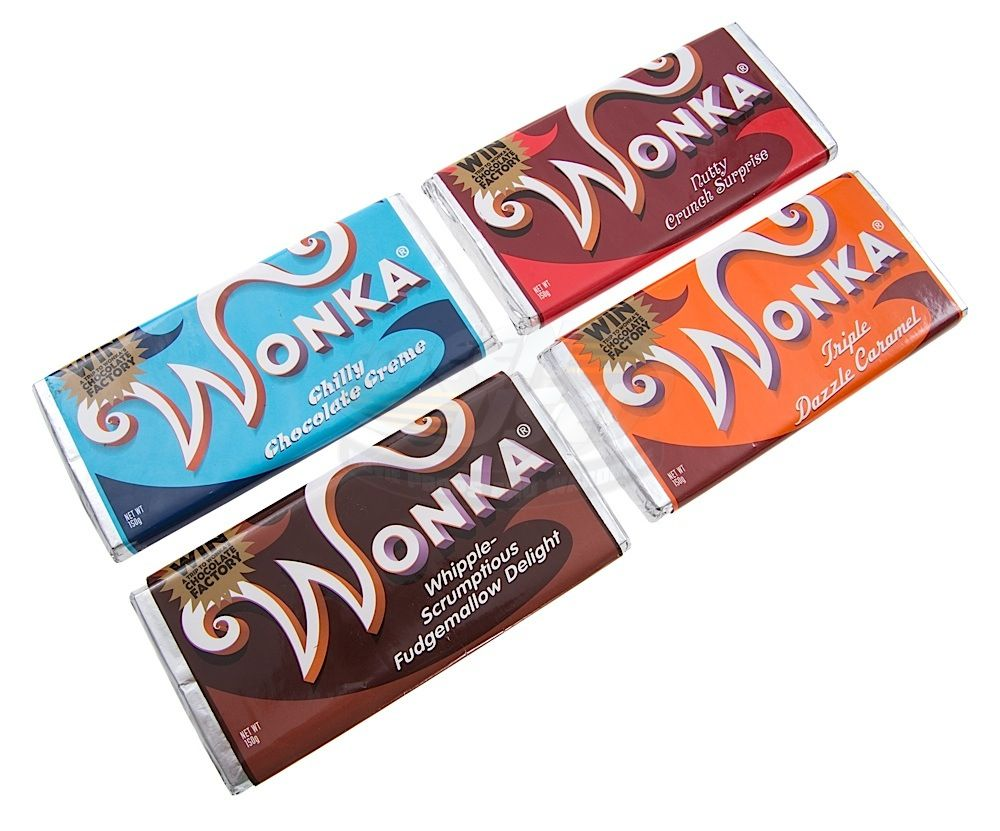 Charlie And The Chocolate Factory Wonka Candy Bars